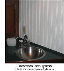 Beadbord Bathroom Backsplash