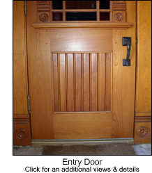 Beadboard on an Entry Door