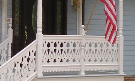 Spear Sawn Baluster Usage Photo