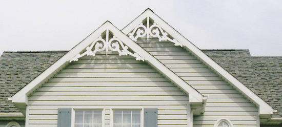 Close-up of Gable Photo 18