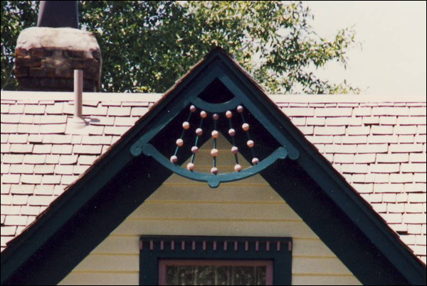 Close-up of Side Gable of Gable Photo 3