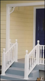 Newel Posts - Decorative Wooden Additions to Your Front Porch - from ...