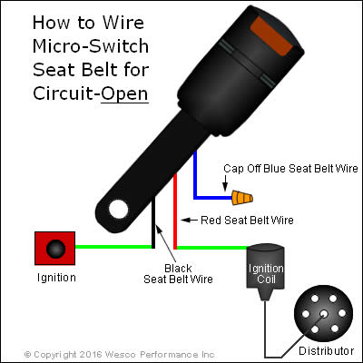 Micro Switch Seat Belt Open Wiring Diagram