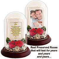 Real Roses that Last a Lifetime…