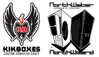 Kikboxes & NorthWater Custom Fan Grilles!
