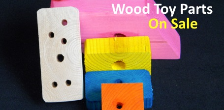 Wood Toy Parts Sale at FunTime Birdy