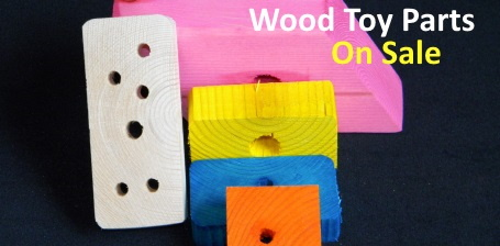 Wood Toy Parts on Sale at FunTime Birdy