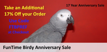 FunTime Birdy 17th Year Anniversary Sale