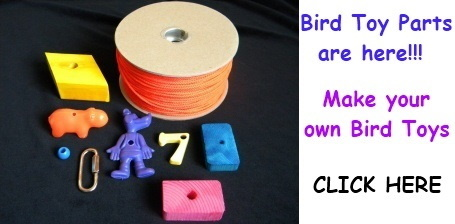 Bird Toy Parts on Sale at FunTime Birdy