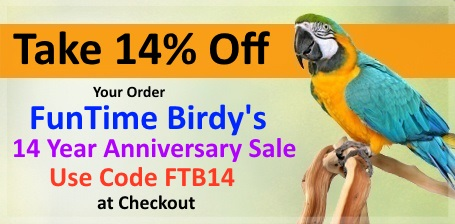 FunTime Birdy is Turning 14 Years Old Sale