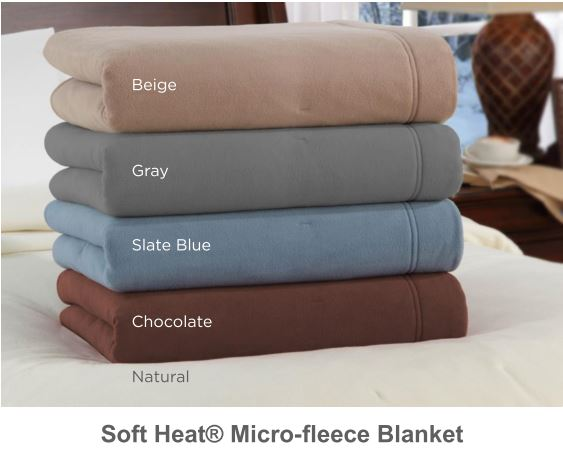 Soft Heat Microfleece colors