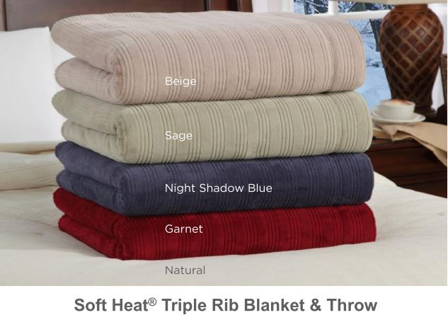 SoftHeat Triple Rib Blankets