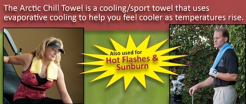 Arctic Chill Towel Cooling Towel