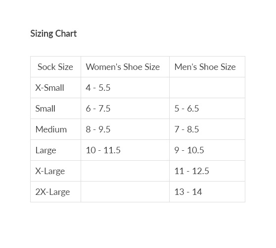 gears canada size chart