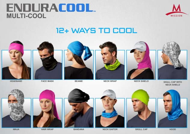 Mission Enduracool Cooling Bandana