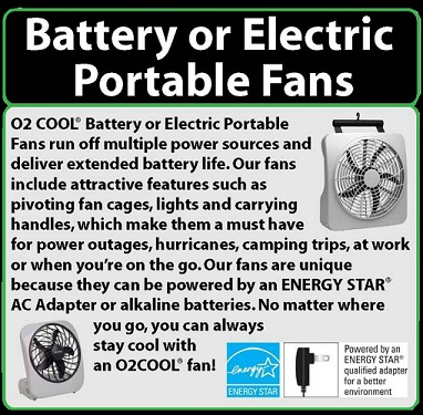 o2 Cool Fans