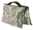 filled saddle sandbag digital camo