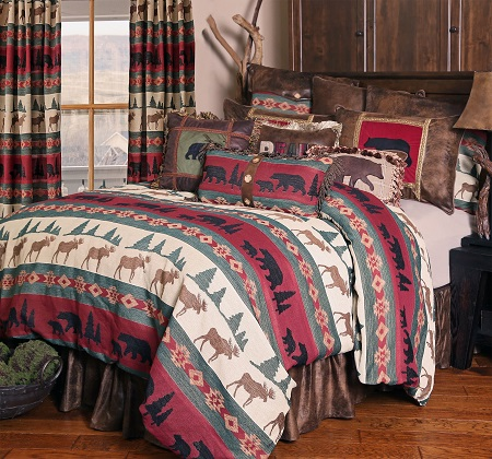 Rustic Bedding for every room in your Bears Den!!