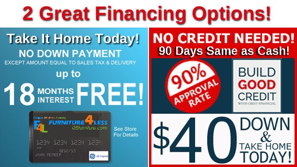 No Credit Check Ez Furniture Financing And Rental Dallas Tx