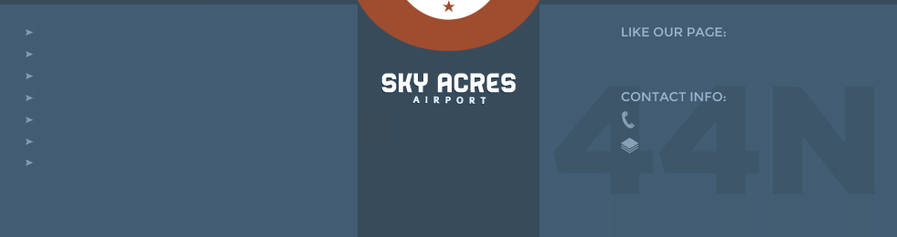 Services And Facilities At Sky Acres Airport