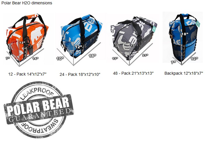 Polar Bear H2O Coolers