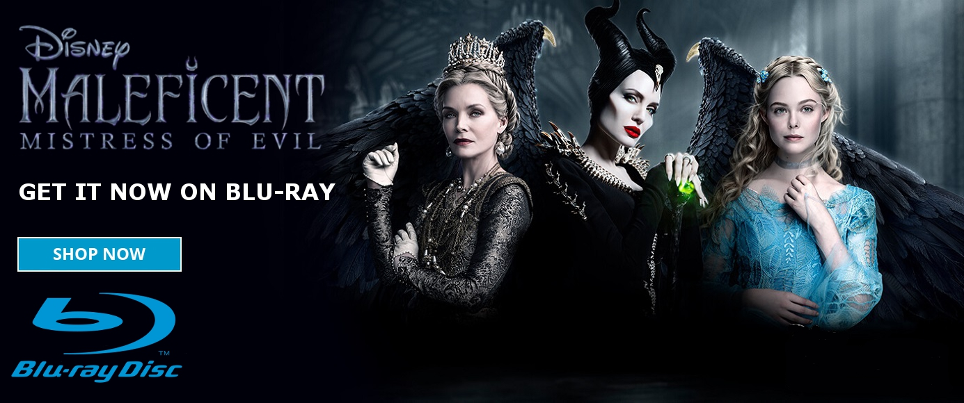 MALEFICENT: MISTRESS OF EVIL Blu-Ray