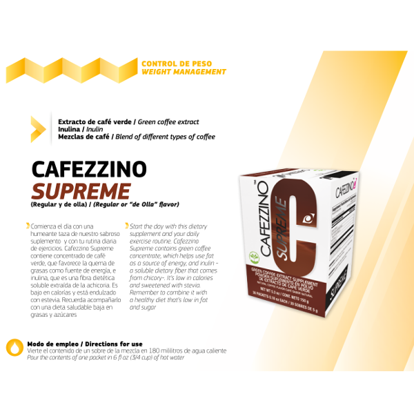 cafezzino plus omnilife ingredientes