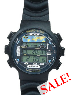 Atomic Chrono-Alarm Digital Sports Watch ADWA101