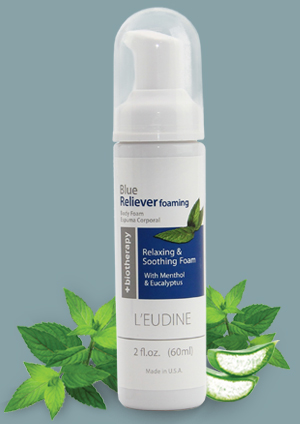 L'EUDINE BLUE RELIEVER FOAMING