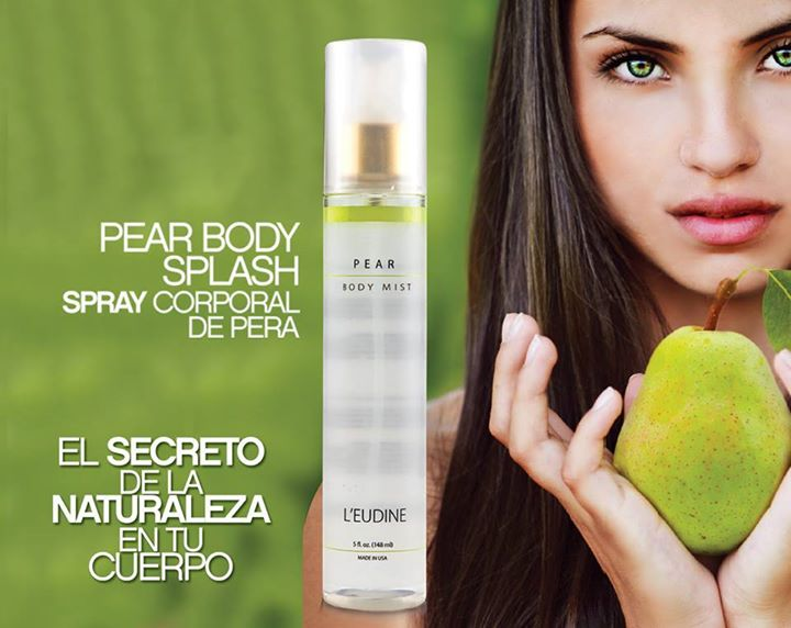 L'EUDINE ORCHIDSO SWET PEAR BODY MIST LIMITED EDITION