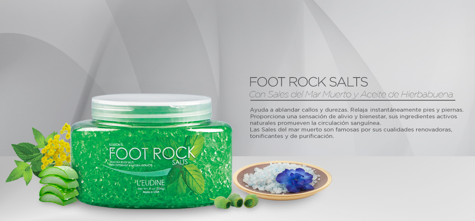 FOOT ROCK SALTS
