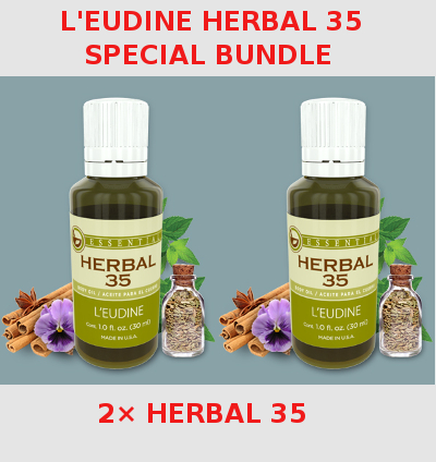 L'EUDINE<br>HERBAL 35<br>Special Bundle<br>