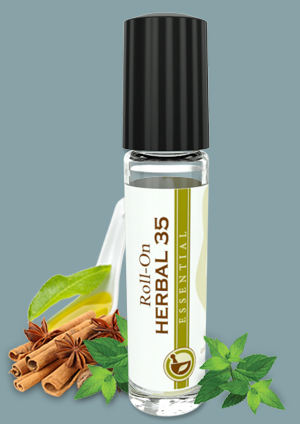 L'EUDINE HERBAL 35 ROLL ON