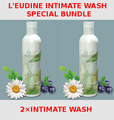 L'EUDINE<br>INTIMATE WASH<br>Special Bundle