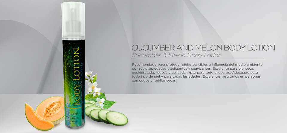 CUCUMBER & MELON BODY LOTION