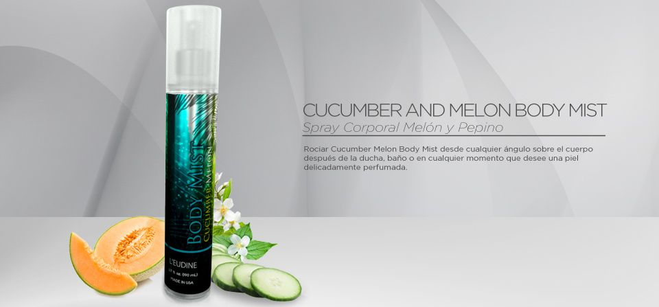 CUCUMBER & MELON BODY MIST