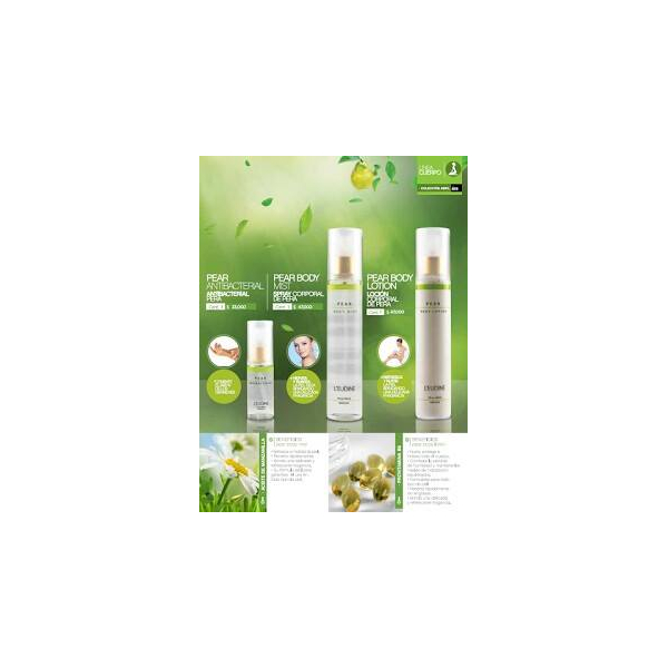 L'EUDINE ORCHID SO SWEET AND PEAR LOTION BUNDLE