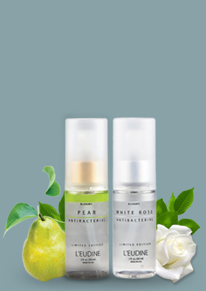 L'EUDINE ANTIBACTERIAL PEAR WHITE ROSE