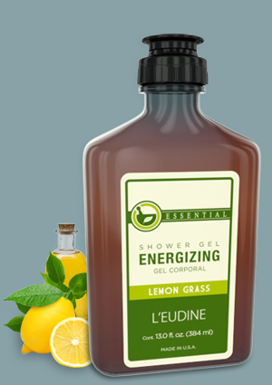L'EUDINE ENERGIZING SHOWER GEL LEMON GRASS