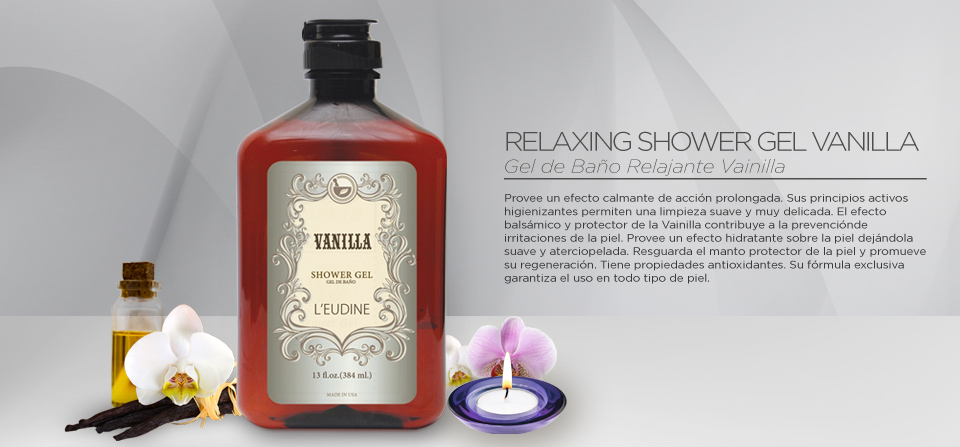 VANILLA SHOWER GEL 13oz.