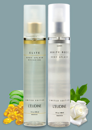 L'EUDINE ELITE AND WHITE ROSE BODY SPRAY BUNDLE