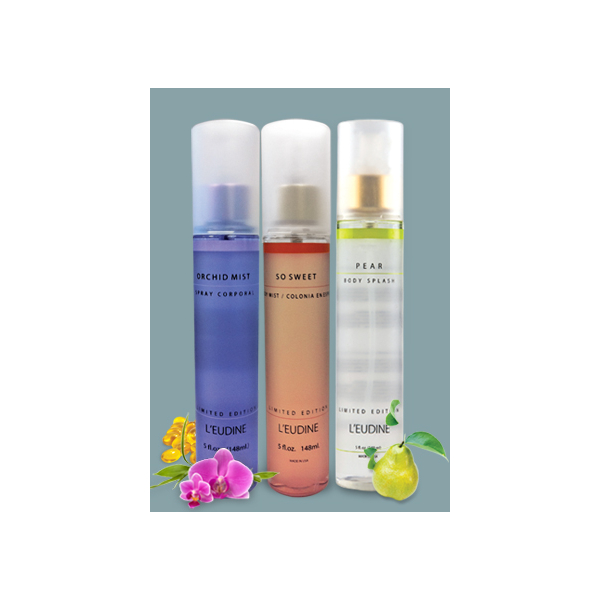 L'EUDINE ORCHID SO SWEET AND PEAR BODY MIST BUNDLE