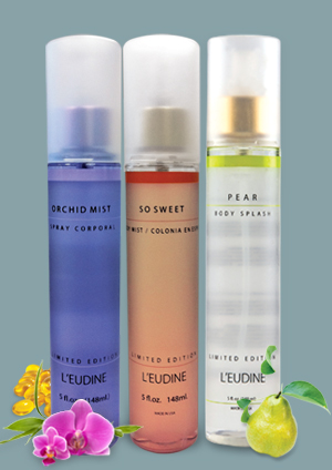 L'EUDINE ORCHID AND SO SWEET PEAR BODY MIST BUNDLE