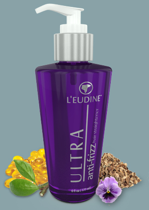 L'EUDINE ULTRA<br>ANTI FREEZE HAIR<br>STRAIGHTENER<br>