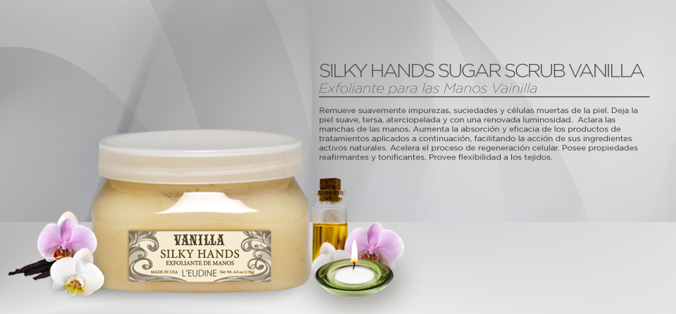 VANILLA SILKY HANDS 6OZ