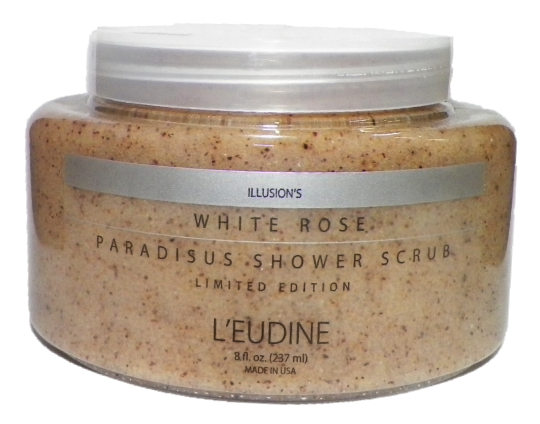 L'EUDINE WHITE ROSE PARADISUS SHOWER SCRUB
