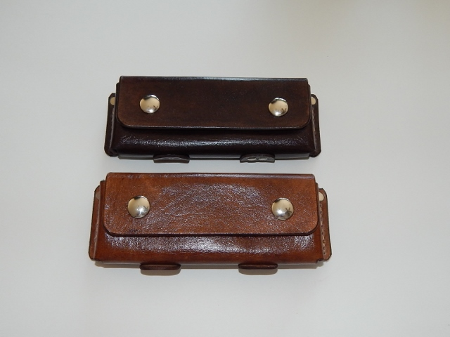 Leather Horizontal Knife Belt Sheath