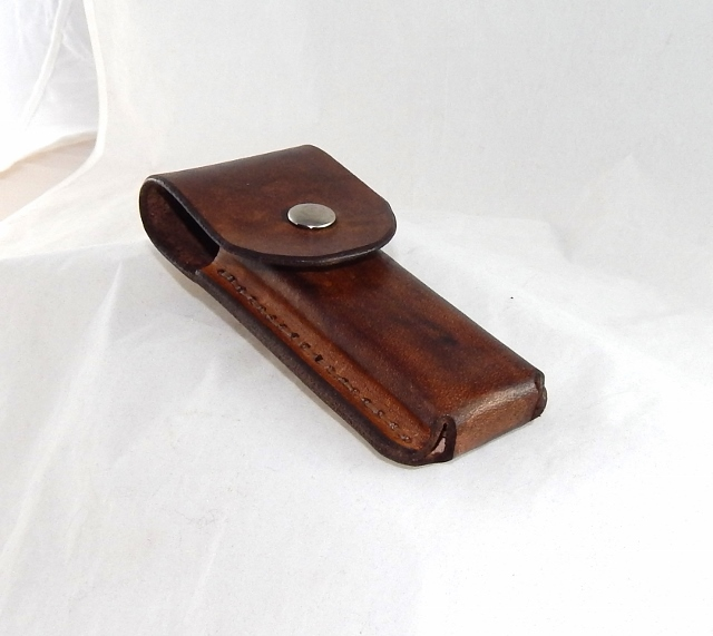 Leather Pocket Knife belt Sheath