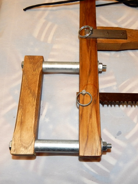 Hand-made Take-down Frame Bow Buck Saw