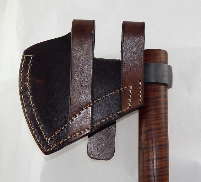 Leather belt sheath